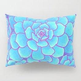 An Ocean of Succulents Pillow Sham