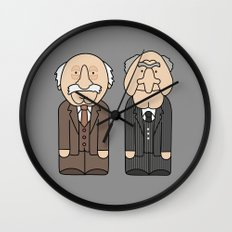 Statler & Waldorf – The Muppets Wall Clock