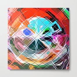 Harlekin abstrakt. Metal Print
