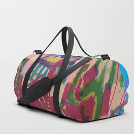 Paint the town Duffle Bag