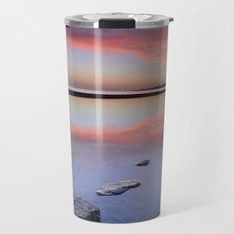 """""""Purple....."""" Tarifa beach. Travel Mug"""