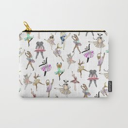 Animal Ballet Hipsters LV Carry-All Pouch
