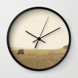 Montauk Beach Jeep Wall Clock
