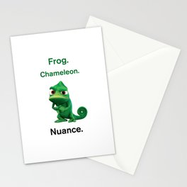 Nuance - Tangled - White Stationery Cards