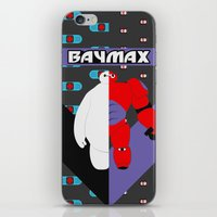 baymax iPhone & iPod Skins featuring BayMax by Brieana