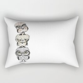 Owl Totæm Rectangular Pillow