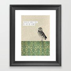 Darkest Forest Framed Art Print
