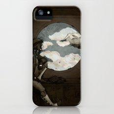 Aviator Girl (Steampunk) Slim Case iPhone (5, 5s)