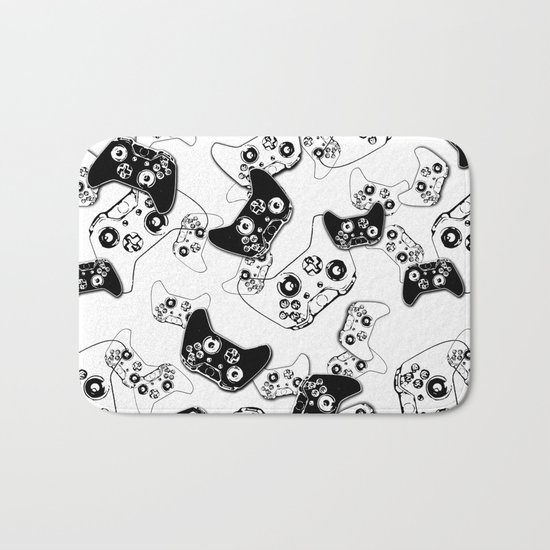 Video Game Black on White by ts55