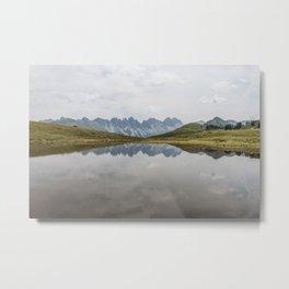 Austrian Lakes and Mountains Metal Print