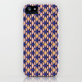 Traditional Japanese pattern HANA-SHIPPO iPhone Case