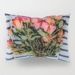 Sketchy Flowers 2 Pillow Sham