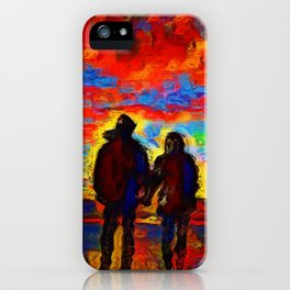 Our Last Date iPhone Case