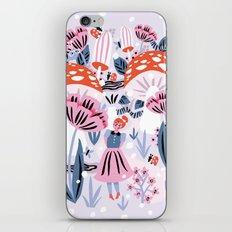 Alice in Winterland iPhone & iPod Skin