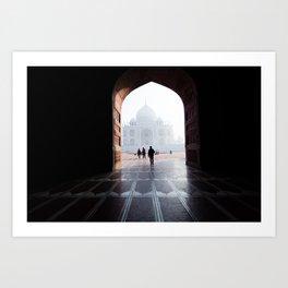 The Taj, Framed Art Print
