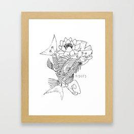 // Pisces Framed Art Print