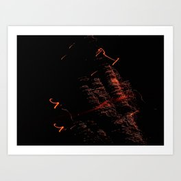 Bright Night Lights 4 Art Print