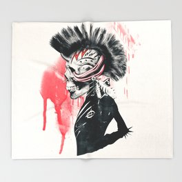 PUNK Throw Blanket