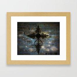 The Cross! Framed Art Print