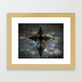 The Cross! Framed Art Print