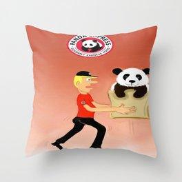 Panda Express Throw Pillow