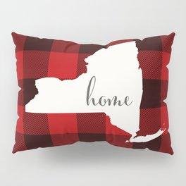New York is Home - Buffalo Check Plaid Pillow Sham