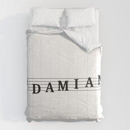 Name Damian Comforters