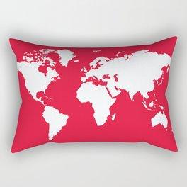 Geranium Elegant World Rectangular Pillow