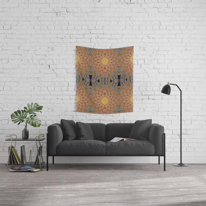 sun burst Wall Tapestry