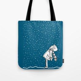 Snoweater Tote Bag