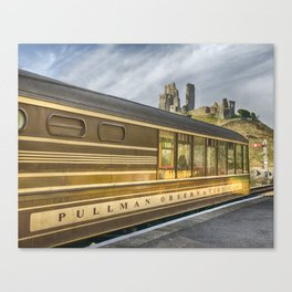 Pullman Observation Car Canvas Print