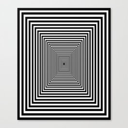 Down the Rabbit Hole Canvas Print