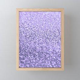 PURPLE LAVENDER Framed Mini Art Print