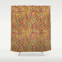 Wave interlude Shower Curtain
