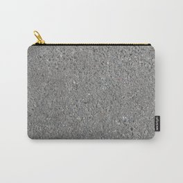 Texture of asphalt, road surface Carry-All Pouch