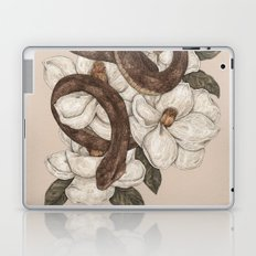 Snake and Magnolias Laptop & iPad Skin