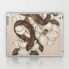 Snake and Magnolias Laptop & iPad Skin