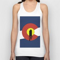 denver Tank Tops featuring Denver, Colorado by HighTribe