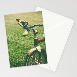 old children's tricyclevintage picture style Stationery Cards