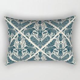 Spirit Animals // animal lovers // art nouveau  Rectangular Pillow