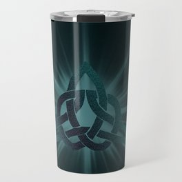 Celtic knot starburst Travel Mug