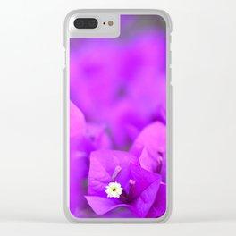 Bougainvillea No. 1 Clear iPhone Case