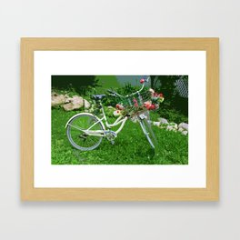 Between Now and Forever-d Framed Art Print