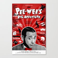 Pee-wee's big adventure Canvas Print