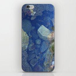 Rocks Under Water I iPhone Skin