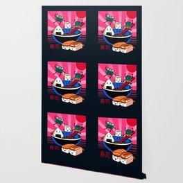 Sushi Retro Fun Wallpaper
