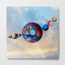 Gaia's friends #society6 Metal Print