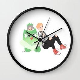 Mochi Jimin Wall Clock