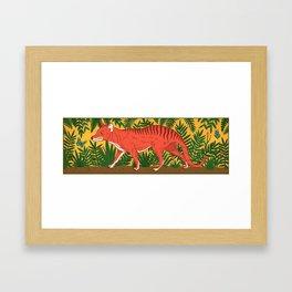 Tasmanian Tiger Framed Art Print