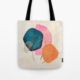 Abstract Watercolor Shapes Tote Bag